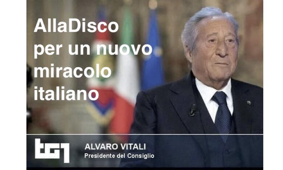Alvaro Vitali presidente - AllaDiscoteca