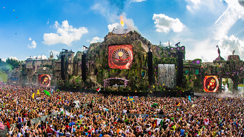 Tomorrowland - AllaDiscoteca