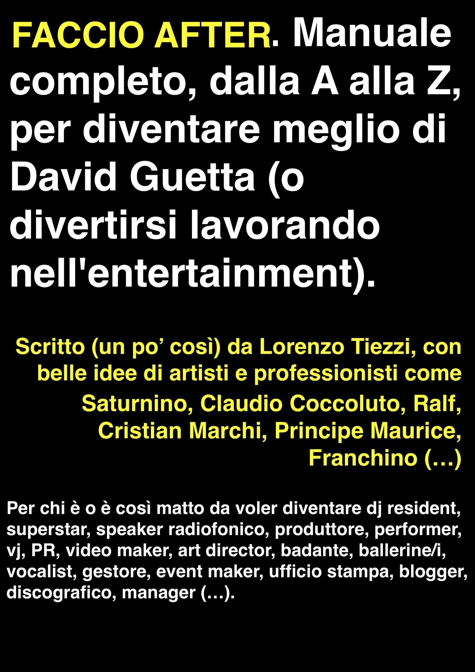 Faccio After - AllaDiscoteca